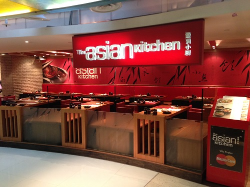 The Asian Kitchen - Outlets